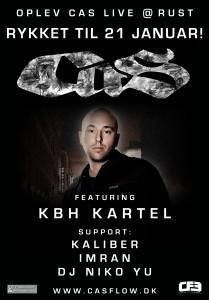 dansk rap, dansk hiphop, CAS 21