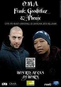 dansk rap, dansk hiphop, CAS 54