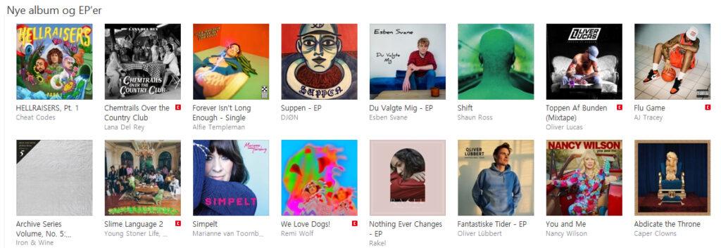 Oliver Lucas - Toppen af Bunden på Apple Music